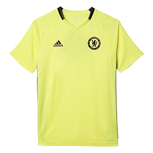 adidas Youth Chelsea Fc Training Jersey Solaryellow/Black YL
