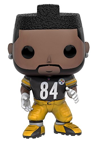 Funko POP NFL: Wave 3 - Antonio Brown Action Figure - Brown Pop