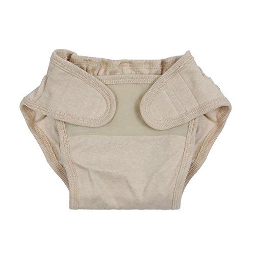 HTTMYY Bebé Pantalones De PañAles Lavable Ajustable Reutilizable Puro AlgodóN A Prueba De Fugas MarróN Claro , xs xs