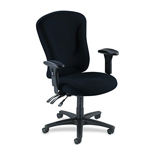 "Lorell 66153 Managerial Task Chair, 26-3/4""x26""x48-1/4""-51"","