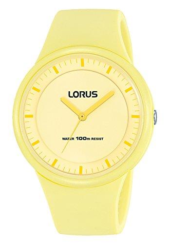 Lorus Reloj Analogico para Mujer de Cuarzo con Correa en Silicona RRX29FX9: Amazon.es: Relojes