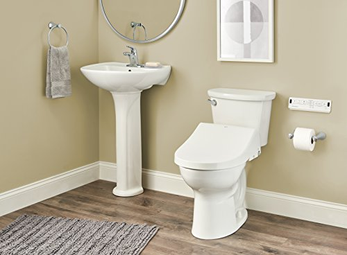INAX 8012A70GRC-415 Heated Shower Toilet Bidet Seat with Remote Control + Dual Nozzle, White by INAX (Image #5)