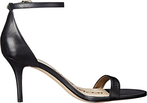 Sam Edelman Sandalias de vestir, Mujer Black Talco Kid Leather