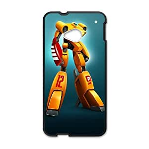 HTC One M7 Cell Phone Case Black Robot toys LV7928752