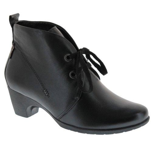 Mobils-Chaussure Bottine-BALI Noir cuir 6200-Femme