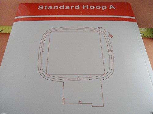 "SewTech Square 100mm (4"") Hoop Viking Hiclass 600E, Platinum Plus, Designer, Quilt Designer II, Designer I/II/SE, Topaz 20/30, Ruby Deluxe, Diamond Deluxe, Platinum 950E/955E, Designer SE LE"
