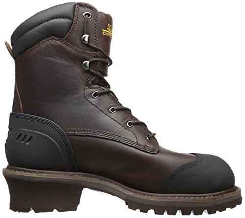 Chippewa Mens 8 Waterdicht Geïsoleerde Comp Teen Eh 55053 Logger Boot Bruin