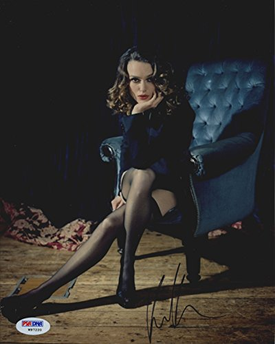 Keira Knightley Lingerie Stockings Heels Signed Autographed 8x10 Photo PSA/DNA Certified Authentic COA ()