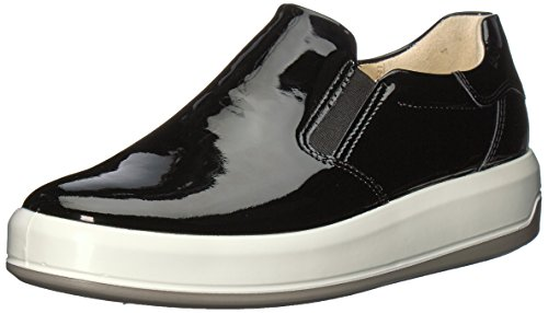 7 Low ECCO Women's Soft 9 UK Top Black Sneakers Zfq67w0f