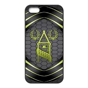 Everton H4H00Z4FQ funda iPhone 4 4s Funda Caso de la cubierta 71HW61 negro
