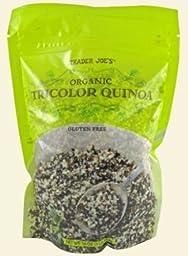 Trader Joe\'s Organic Tricolor Quinoa, 1 LB Bag (Pack of 2)
