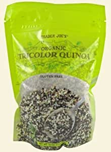 Trader Joe's Organic Tricolor Quinoa, 1 LB Bag (Pack of 2)