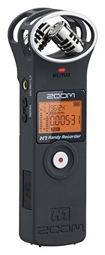 Zoom H1 Handy Recorder - Matte Black