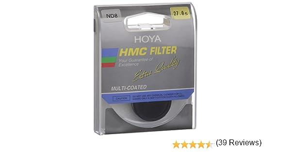 Filtro para c/ámara 37 mm Hoya HMC 37.0MM NDX8