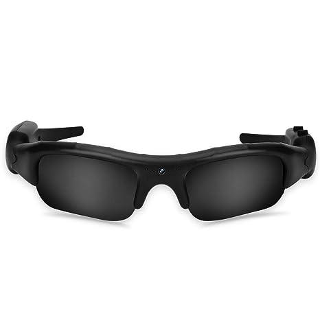 Vbestlife Gafas de Sol con cámara, 1280 x 960HD Grabadora de ...