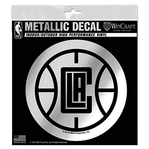 Los Angeles Clippers S69872 Metallic Window Decals ()
