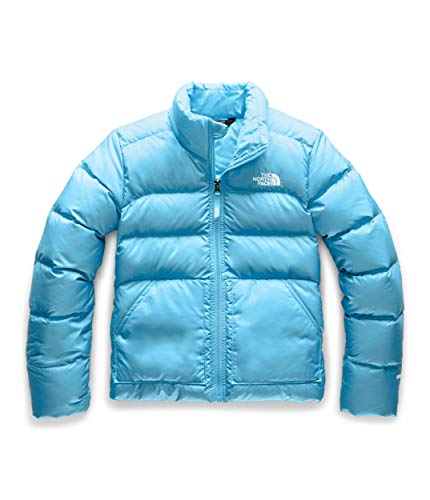 The North Face Girls' Andes Down Jacket, Turquoise Blue, M (Girls Ski North Face Pants The)