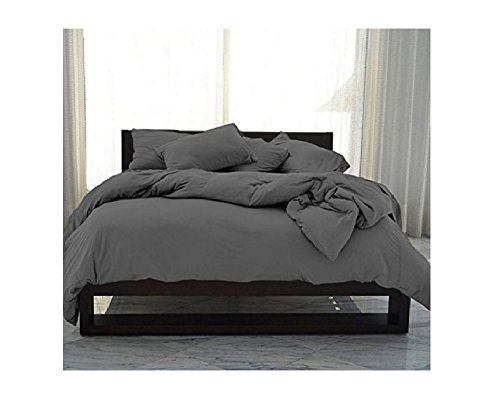 SHEEX - PERFORMANCE Cooling Duvet Cover, Soft, Breathable Fabric Releases Body Heat for Superior Comfort, Graphite (King)