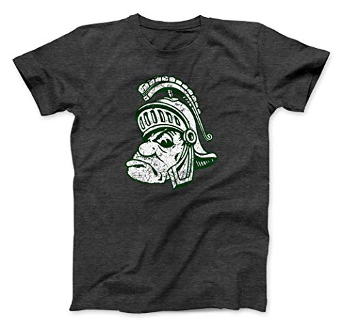 Retro Michigan State University Spartans Gruff Sparty Ultra Soft T-Shirt (XL)