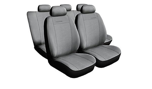 Amazon.es: Seat Cordoba gris universal asiento fundas Asiento schonbezüge Prestige