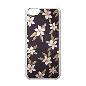 LJF phone case Red Hawaii Flower Original New Print DIY Phone Case for iphone 6 4.7 inch,personalized case cover ygtg606582