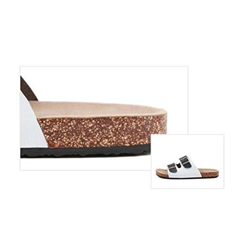 ALUK- Sandales d'été - Hommes Pieds Wear Wear Trend Simple Beach Cool Chaussons ( taille : 43 ) delicate