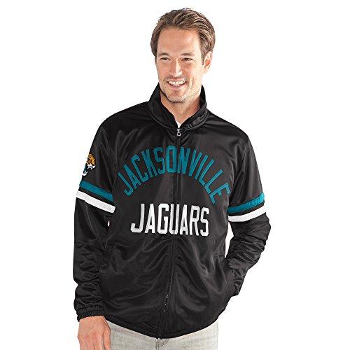 NFL Jacksonville Jaguars Veteran Track Jacket, XX-Large, Black