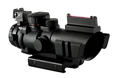 Aim Sports 4X32 Tri III. Scope with Fiber Optic Sight