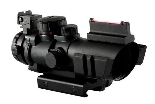 Aim Sports 4X32 Tri III. Scope with Fiber Optic - Tri Inc Sports