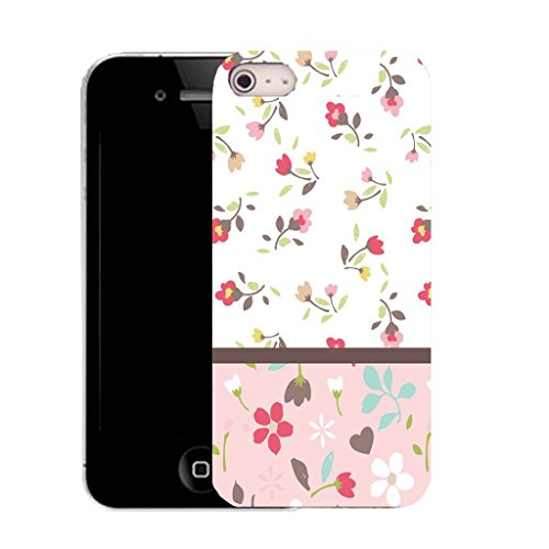 Mobile Case Mate IPhone 5S clip on Silicone Coque couverture case cover Pare-chocs + STYLET - picturesque pattern (SILICON)