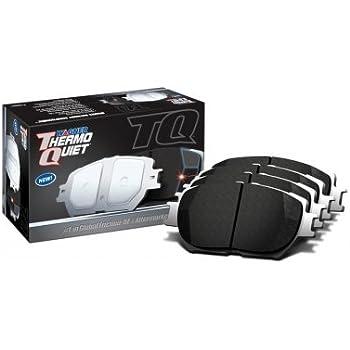 Disc Brake Pad Set-ThermoQuiet Disc Brake Pad Rear Wagner QC1665