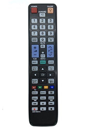 VINABTY AA59-00431A aa5900431a New Replaced Remote Control fit For Samsung LCD LED 3D TV REMOTE AA59-00443A AA59-00441A UN40D6300SFXZA UA55D8000YMXRD UA55D8000YMXXY UN40D6300SFXZA UE32D6530WK