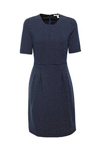 ESPRIT Kleid Blau 400 Navy Damen 0rgwFqx0