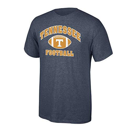 Elite Fan Shop NCAA Men's Tennessee Volunteers Football T-shirt Dark Heather Tennessee Volunteers Dark Heather Large