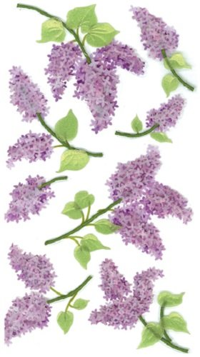 Jolee's Boutique 50-50028 Sticker 3D Lovely Lilacs, ()