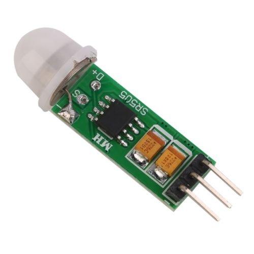 alicenter (TM) HC-SR505 Mini por infrarrojos PIR Motion Sensor módulo de Detector de infrarrojos de precisión L: Amazon.es: Electrónica