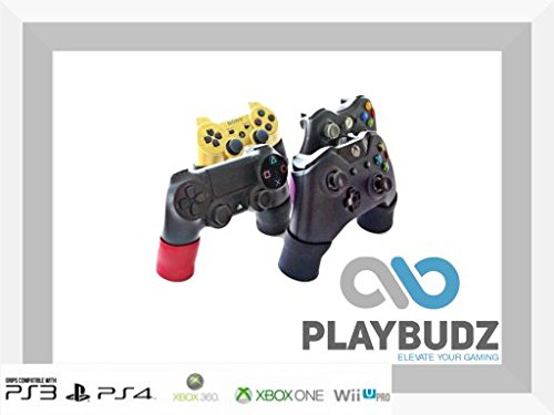 Playbudz Grip Extenders - Compatible With (PS4, XB1, Xbox 360, Xbox One, Nintendo Switch Pro, PS3) Controllers