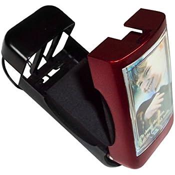 YOUNGFLY 4Pcs Multi-purpose Car Vehicle Visor Accessories Sunglasses Glasses Card Pen Holder Ticket Clip Universal