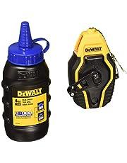 DEWALT DWHT47257L Compact Chalk Reel Kit w/ 4 Oz Container of Blue Chalk