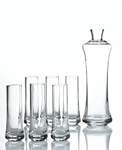 Block by Mikasa Ice Vodka Glass Set
