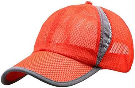 Pinleg Baseball Cap Men and Women Outdoor Holiday Sunshade Sun Hat Quick-Dry Ventilation Adjustable Plain Hat (OG)