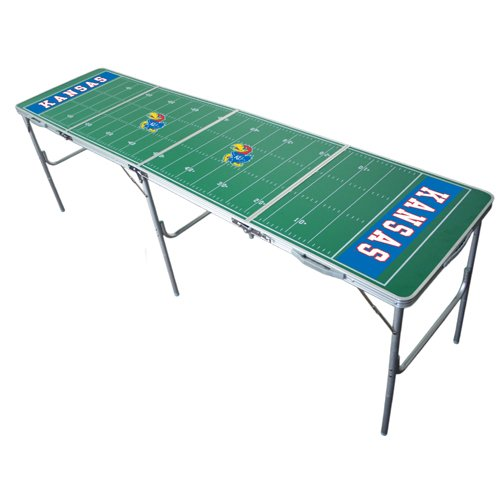 Kansas Jayhawks 2X8 Tailgate Table By Wild Sports