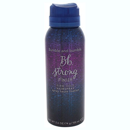 Bumble and Bumble Strong Finish Firm Hold Hair Spray for Unisex, 2.6 Ounce