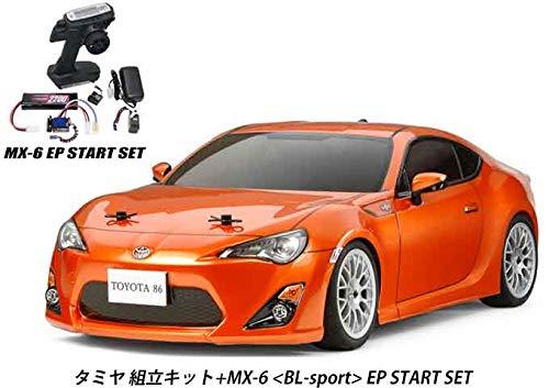 タミヤ RCC トヨタ 86 (TA06)組立キット+MX-6 EP スタートセットSET-101A27621A-58530 B07RKNMXDD
