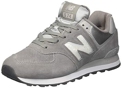 New Balance Womens 574v2 Sneaker, Marblehead/Magnet, 9.5 B ()