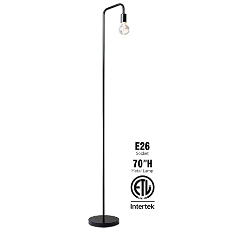 Amazon.com: OBright Lámpara de pie industrial para sala de ...