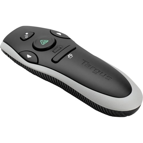 """Targus Group International - Targus Green Laser Presenter - Laser - Wireless - Radio Frequency - Black - Usb """"Product Category: Input Devices/Pointing Devices"""""""
