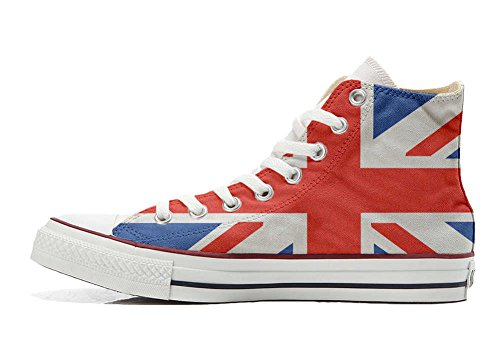 Converse All Star Customized - Zapatos Personalizados (Producto Artesano) La Bandera Británica