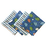 """FUN KINS Funkins Reusable Cloth Napkins for Kids 