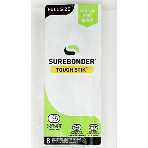 Price comparison product image Surebonder H-810R High Performance Acrylic Adhesive Glue Sticks,  10-Inch